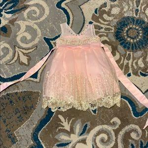Toddler light pink dress size 18m-2t 🆕